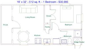 16x32 tiny house 5 surprising 16 x 32 cabin floor plans home pattern derksen 16 x 32 512 sq ft 1 bedroom factory finished cabin
