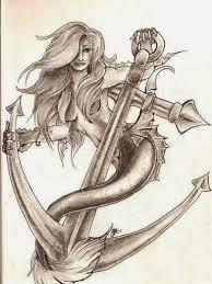 50 beautiful and cute mermaid tattoos designs and ideas