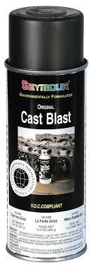 alumi blast seymour 16 048 cast blast spray paint aluminum cast paint