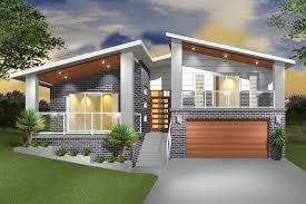 split level home designs split level home designs surprising narrow sloping block house