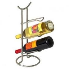 four bottle wine rack by park designs in hand forged iron