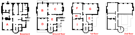 Hatfield House Floor Plan by The Tower House Wikiwand