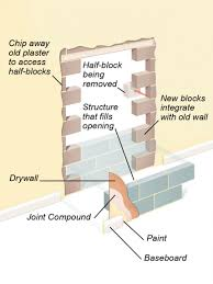 vertical cracks in brickwork how to repair bricks caused by