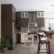 cuisine armoire brune fabricant de cuisines cuisines beauregard