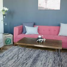 reclaimed wood mid century coffee table living room furniture