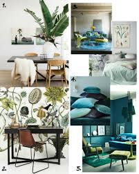 botanical interiors inspiration home decor trends 2016
