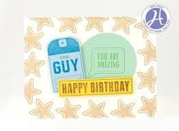 hampton art blog echo park cool guy birthday card