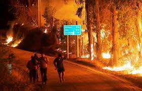 Fire Evacuations Saskatchewan by Worst Wildfires In Chile U0027s History The Atlantic