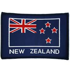 New Zealand New Flag New Zealand Flag Sew On Patch Army And Outdoors