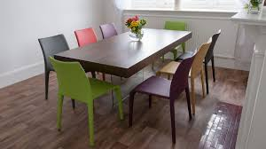 colorful dining room sets cool home interior design ideas classy armless chairs for living