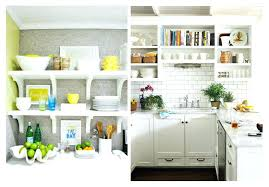 kitchens with open shelving ideas shelving ideas for kitchen kakteenwelt info