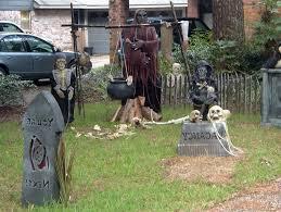 Outdoor Halloween Decorations Cool Outdoor Halloween Decorating Ideas 13 Spooky Halloween Yard