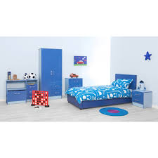 Two Tone Blue Bedroom Marina Blue Gloss Two Tone 2 Drawer Bedside Ark Furniture