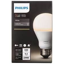 philips hue a19 smart led light bulb white smart lights best