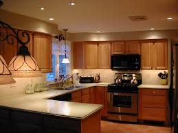 interior window contemporary kitchen recessed lighting design