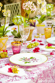christmas party and table settings ideas orangearts gallery of