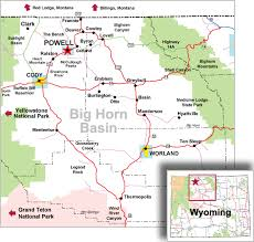 map of thermopolis wyoming big horn basin map about us northwest college