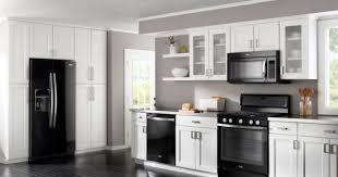 Painting Kitchen Cabinets Black 13 Amazing Kitchens With Black Appliances Include How To Decorate