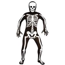skeleton morphsuit men u0027s halloween costume walmart com