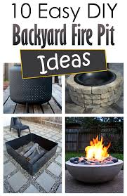 diy backyard pit 10 easy diy backyard pit ideas