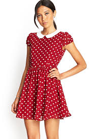 polka dot fit u0026 flare dress forever 21 fashion summer