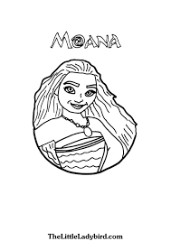 free moana coloring pages thelittleladybird com