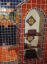 bathroom using mexican tiles decorating with talavera tiles