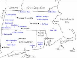 map of ma and ri map of ski resorts in southern new