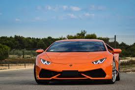 Lamborghini Huracan Front - 2014 610 4 huracan lamborghini lb724 orange supercar wallpaper
