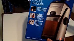 Mr Coffee Burr Mill Grinder Review Black U0026 Decker Cbm220 Burr Mill Stainless Steel Coffee Grinder