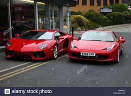 ferrari 458 red lamborghini aventador u0026 ferrari 458 italia cars wilmslow