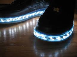 shoes with lights on the bottom mishon enlighted designs