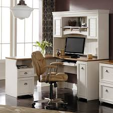 innovative white l shaped desk with hutch computer desks for