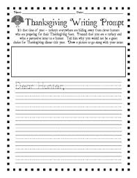 thanksgiving writing prompts school thanksgiving