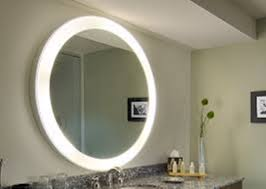 three advantages with a lighted bathroom mirror u2014 doherty house