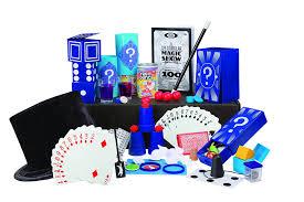 amazon com ideal 100 trick spectacular magic show suitcase toys