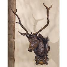 Blackforest Decor Black Forest Elk Wall Mount