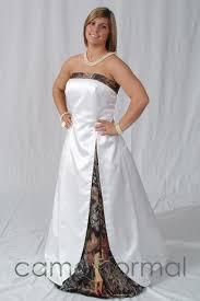 discount 2015 white camo wedding dresses with satin a line