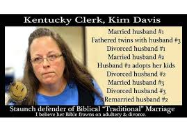 Traditional Marriage Meme - men are stupid and women are ugly kim davis a case study just