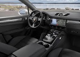2017 porsche macan turbo interior 2018 porsche cayenne turbo unveiled at frankfurt show