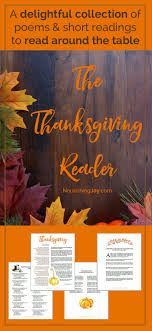 the thanksgiving reader nourishing