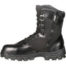 waterproof motorbike boots alphaforce zipper waterproof duty boot by rocky boots fq0002173