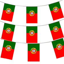 What Are The Colors Of The Portuguese Flag 33ft 10 Meters Portuguese Flag Bunting Portugal Party Euro