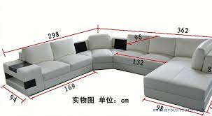 Living Room Sofa Set Designs Free Shipping European Design U Shaped Genuine Leather Sofa Set