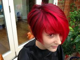 the best red hair colour a vibrant cherry red colour refresh