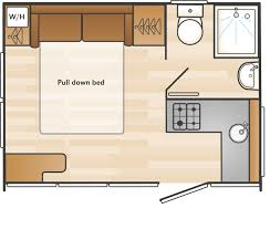 swift caravan 2 berth layouts double bed google search tiny