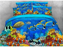 Fish Duvet Cover All Lovely And Beautiful Scene Print Bedding Sets Beddinginn Com