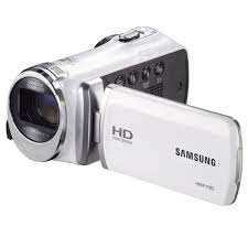 amazon com samsung f90 white camcorder with 2 7