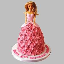 doll cake flamboyant cake chocolate 2kg eggless gift doll