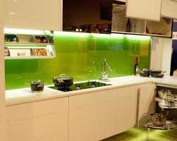 green backsplash kitchen diy backpainted glass backsplashes http glassprimer com